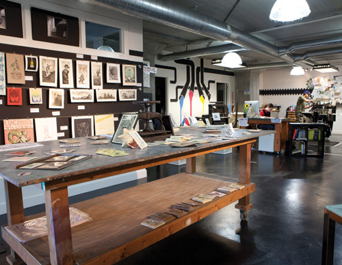 pike street press seattle lettepress studio custom design letter press printing invitations