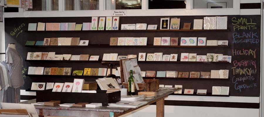 Pike Street Press store