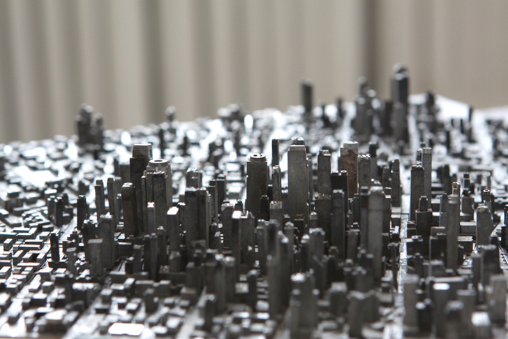 Hong-Seong-Jang1Artist-Creates-Epic-Cityscapes-Using-Vintage-Letterpress-Pieces-Hong-Seong-Jang
