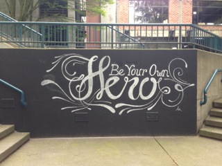 be-your-own-hero-chalk-wall-seattle-typography-by-amy-jean-miller