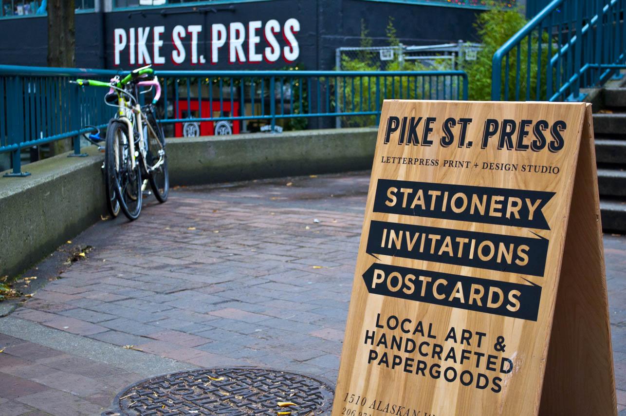 Making wood sandwich board signs pike street press
