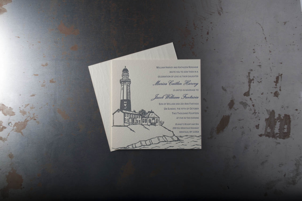 Nautical Wedding Invitations Pike Street Press