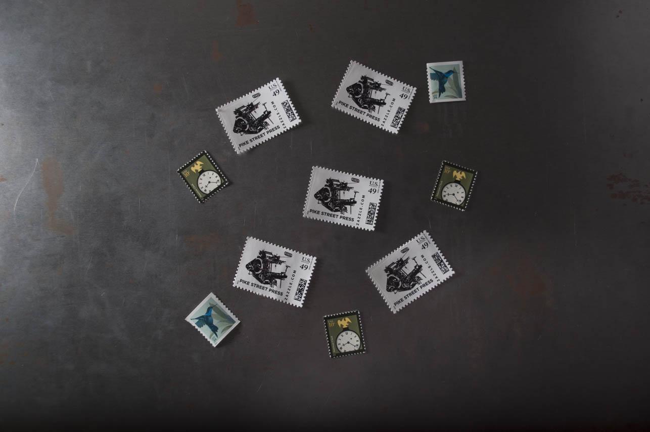 letterpress stamps