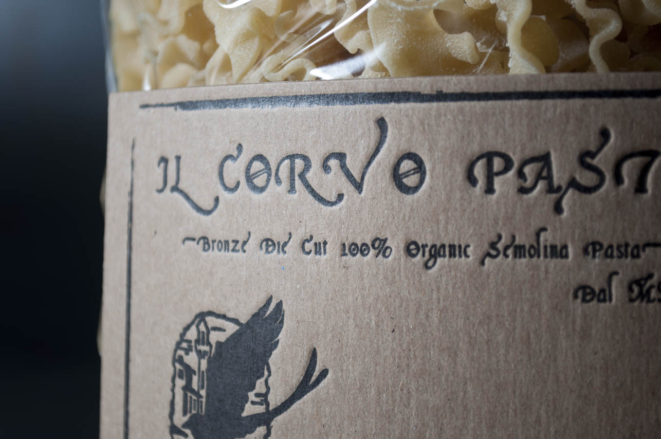 custom letterpress label