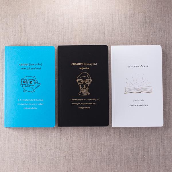 Warby parker notebooks