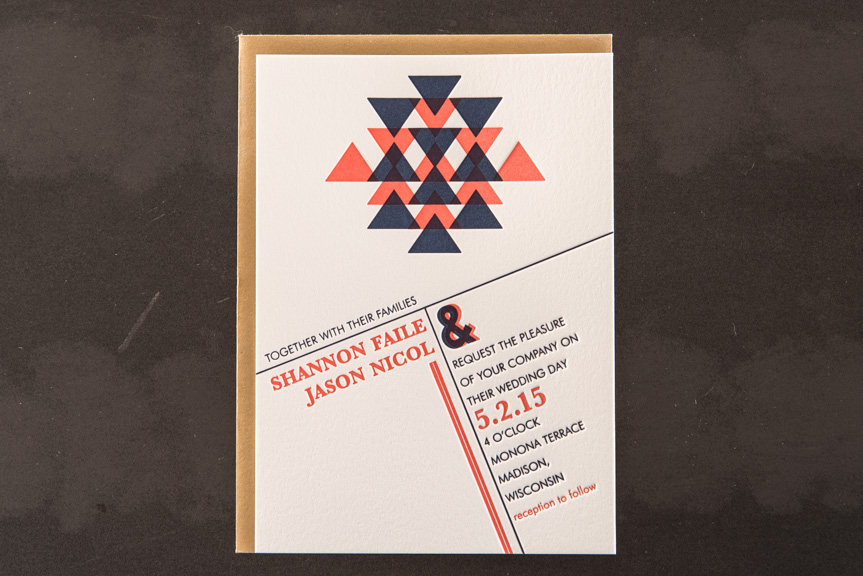 wedding invitation designers seattle letterpress printing