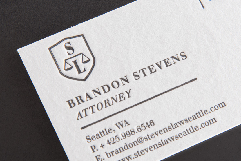 attorney business card printing seattle pike street press