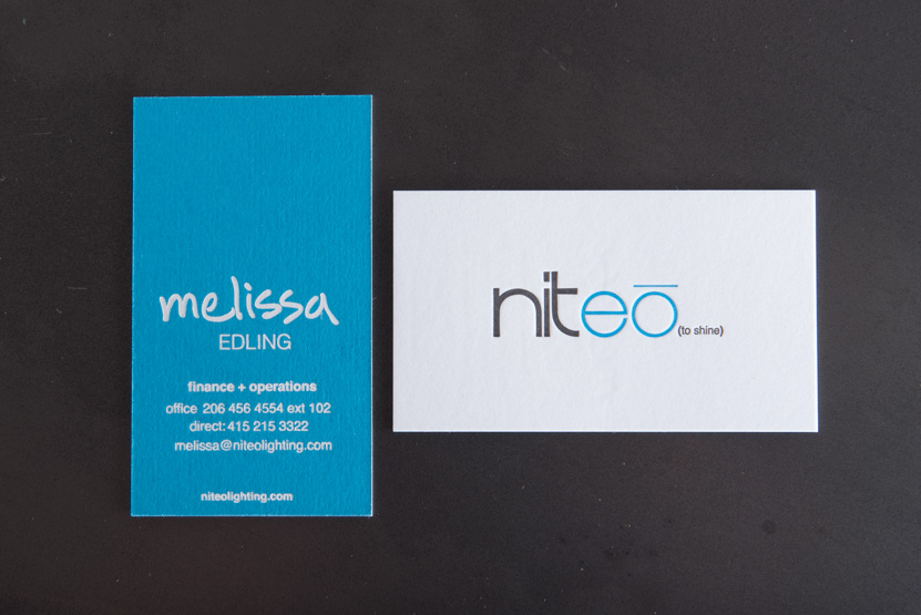 business card printing seattle foil print company custom letterpress