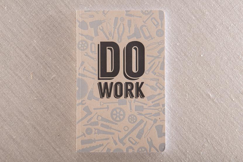 custom letterpress notebbook