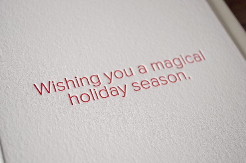 holiday greeting card printers seattle pike street press letterpress
