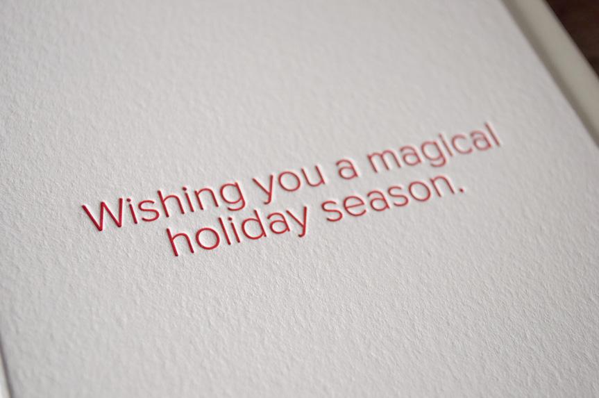holiday greeting card printers seattle pike street press letterpress