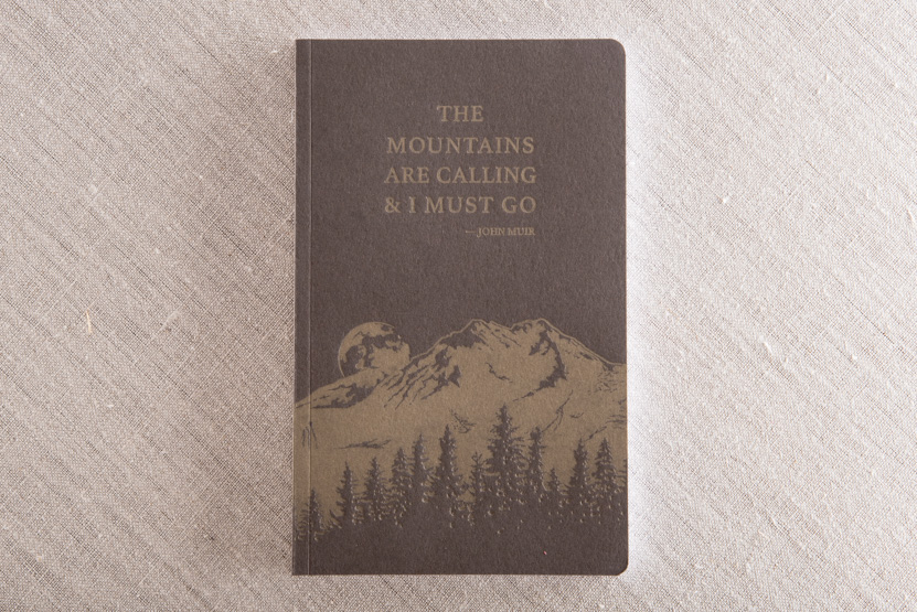 John Muir letterpress notebook