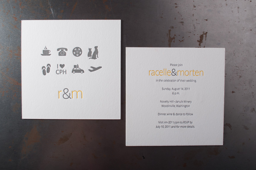 Custom wedding invitations seattle letterpress printers (1 of 1)