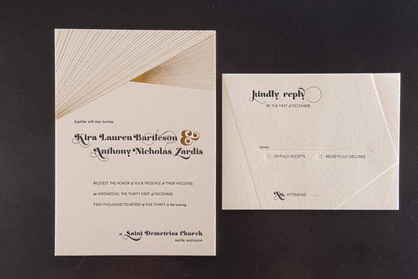 custom foil invitations seattle