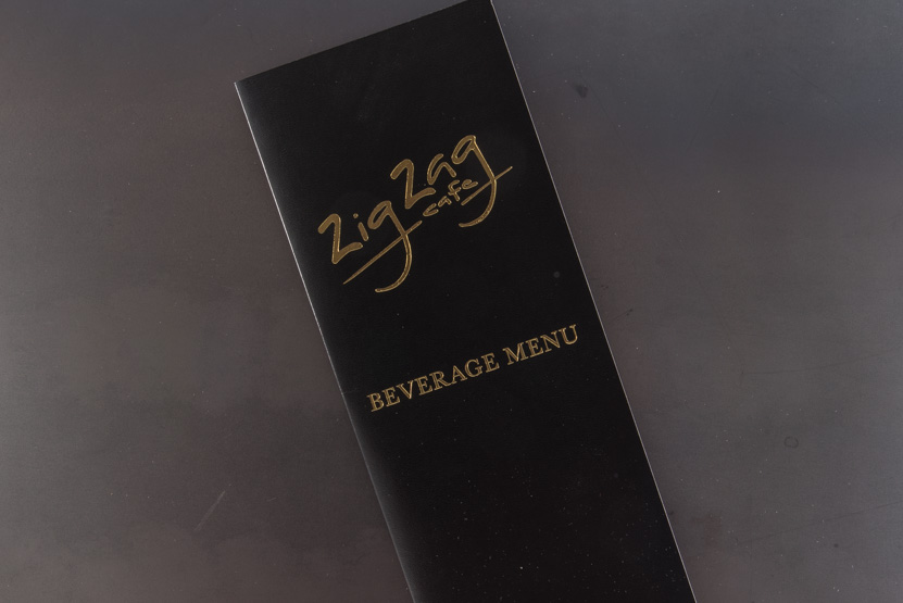 custom menus seattle gold foil printing online