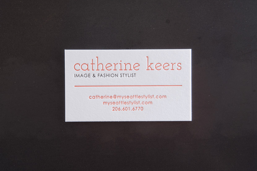fashion business cards printing seattle letterpress 01
