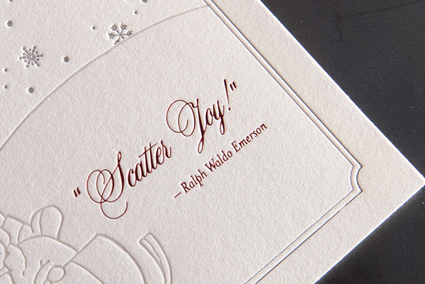 holiday greeting card printing seattle designers