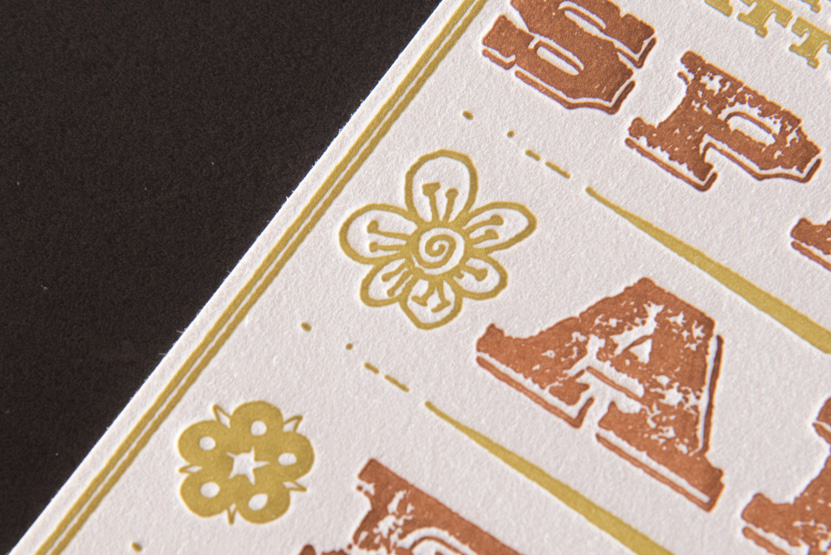letterpress inviation custom design seattle