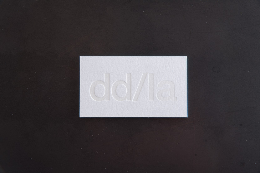 pressed business cards deboss blind letterpress printing print card seattle