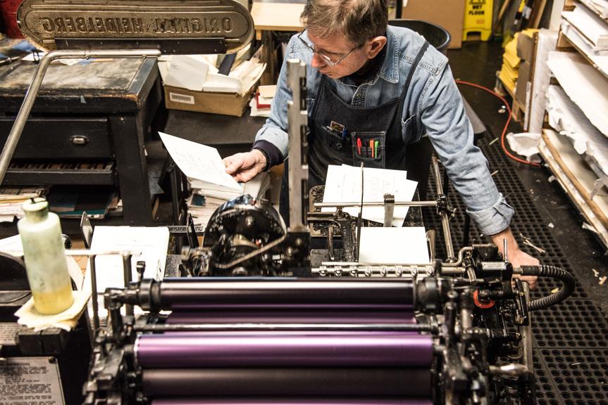 letterpress machine
