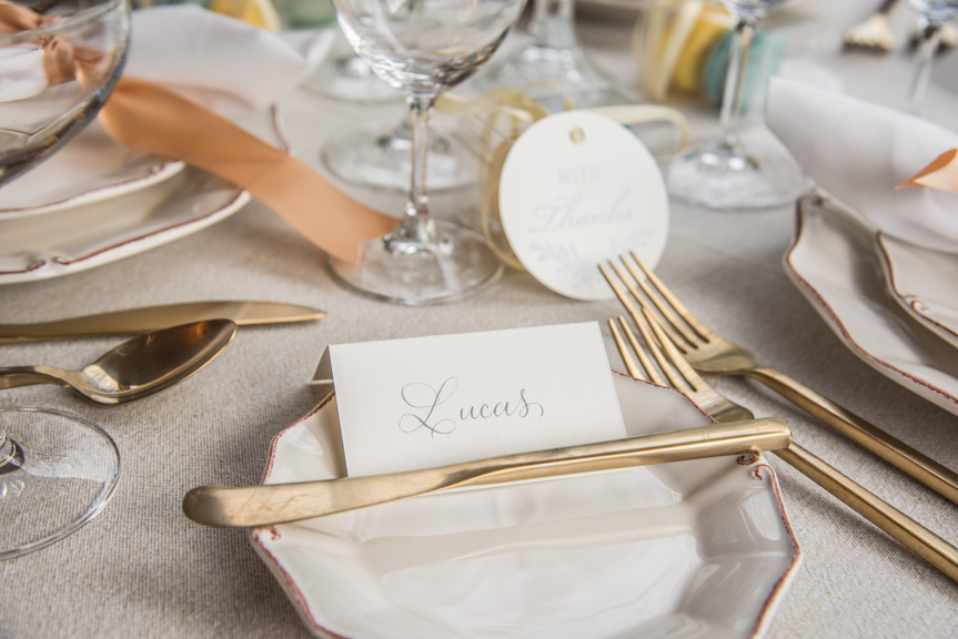 custom letterpress printing tags seattle calligraphy table seating delille cellars wedding