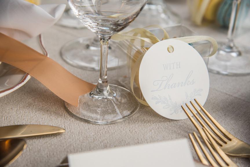 wedding gift tags letterpress die cut printing seattle print studio custom design
