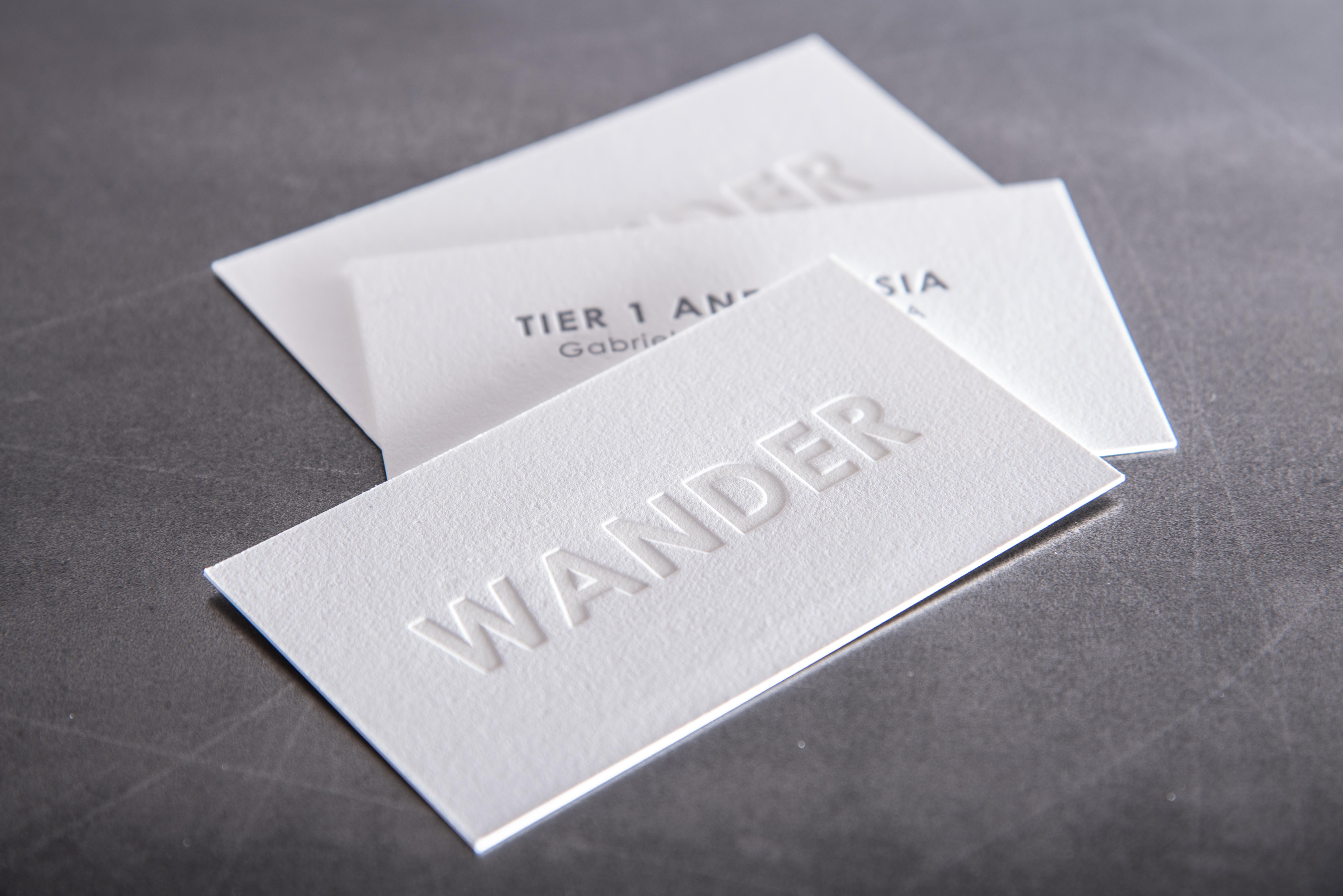 business cards deboss blind impression (1 of 1)