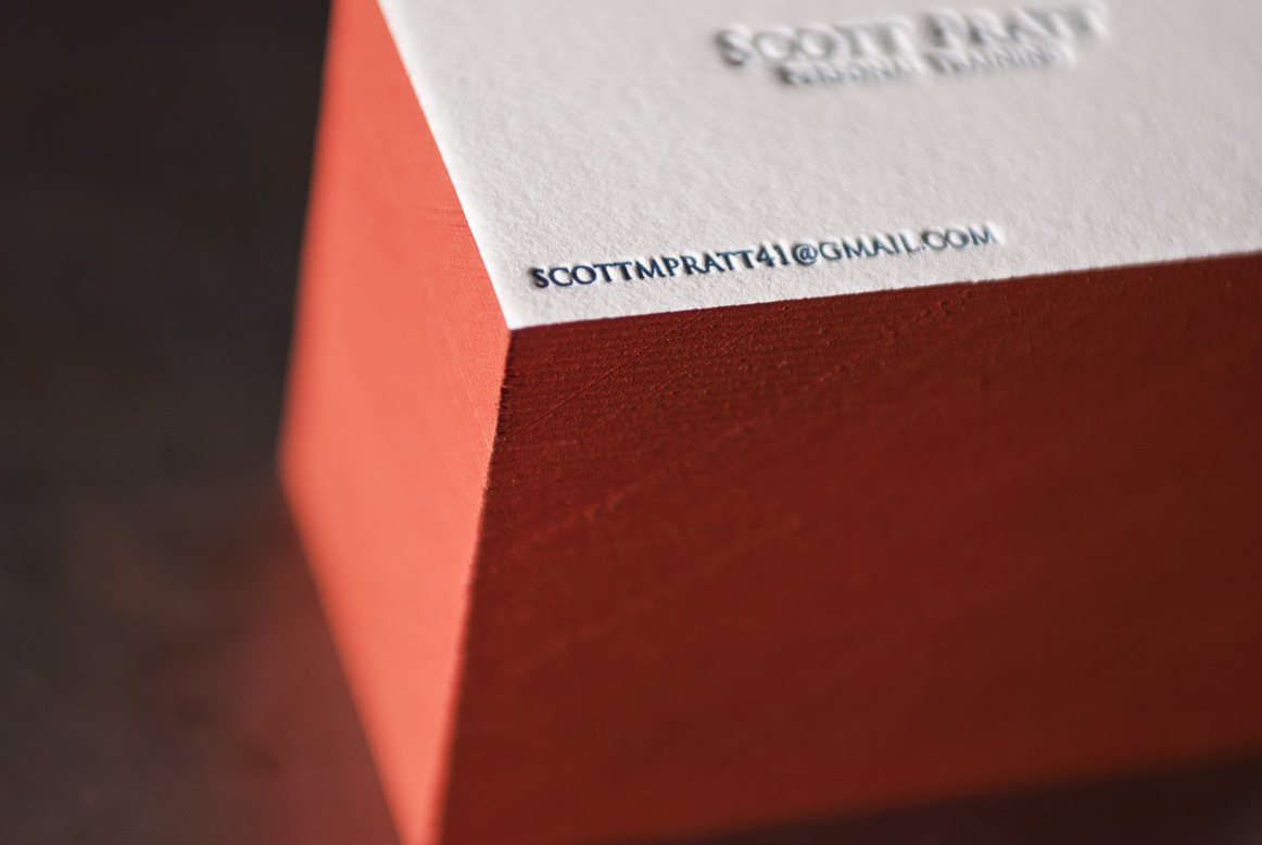 letterpress-business-cards-seattle-red-edge-painting-paper
