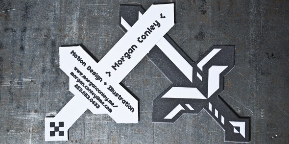 sword-shaped-business-cards-custom-die-cutting-letterpress-pike-st-press-seattle