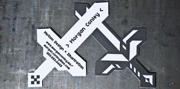 sword-shaped-business-cards-custom-die-cutting-letterpress-pike-st-press-seattle