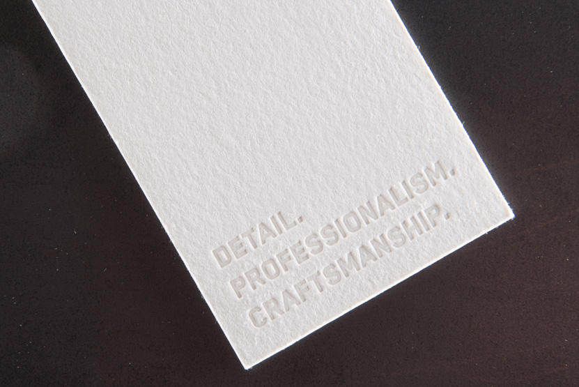 business card printing seattle letterpress print press custom construction graphic designer
