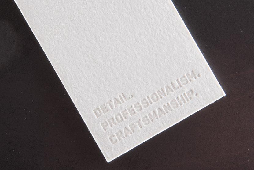 business card printing seattle letterpress print press custom construction graphic designer