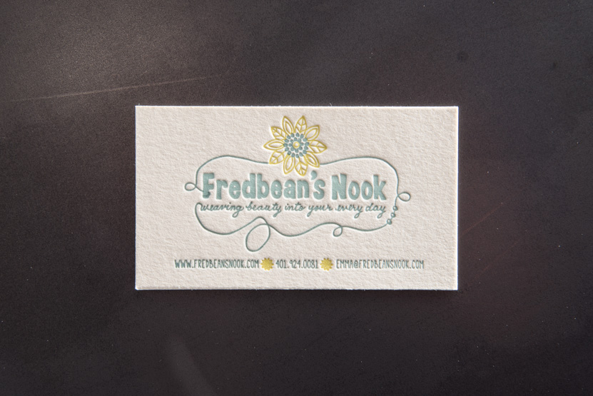 gift store business card printing seattle letterpress print press custom graphic designer