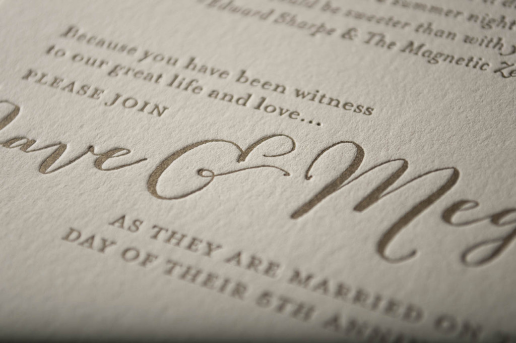 letterpress wedding invitation design seattle friday harbor lighthouse