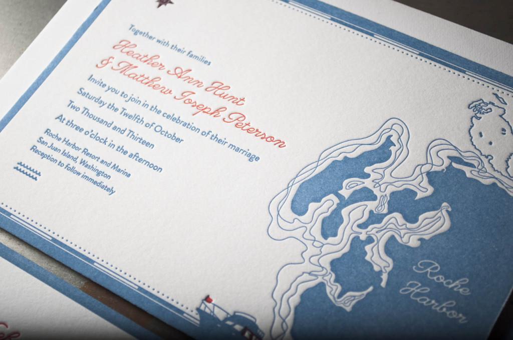 nautical-wedding-invitations-letterpress-printing-design roche harbor san juans