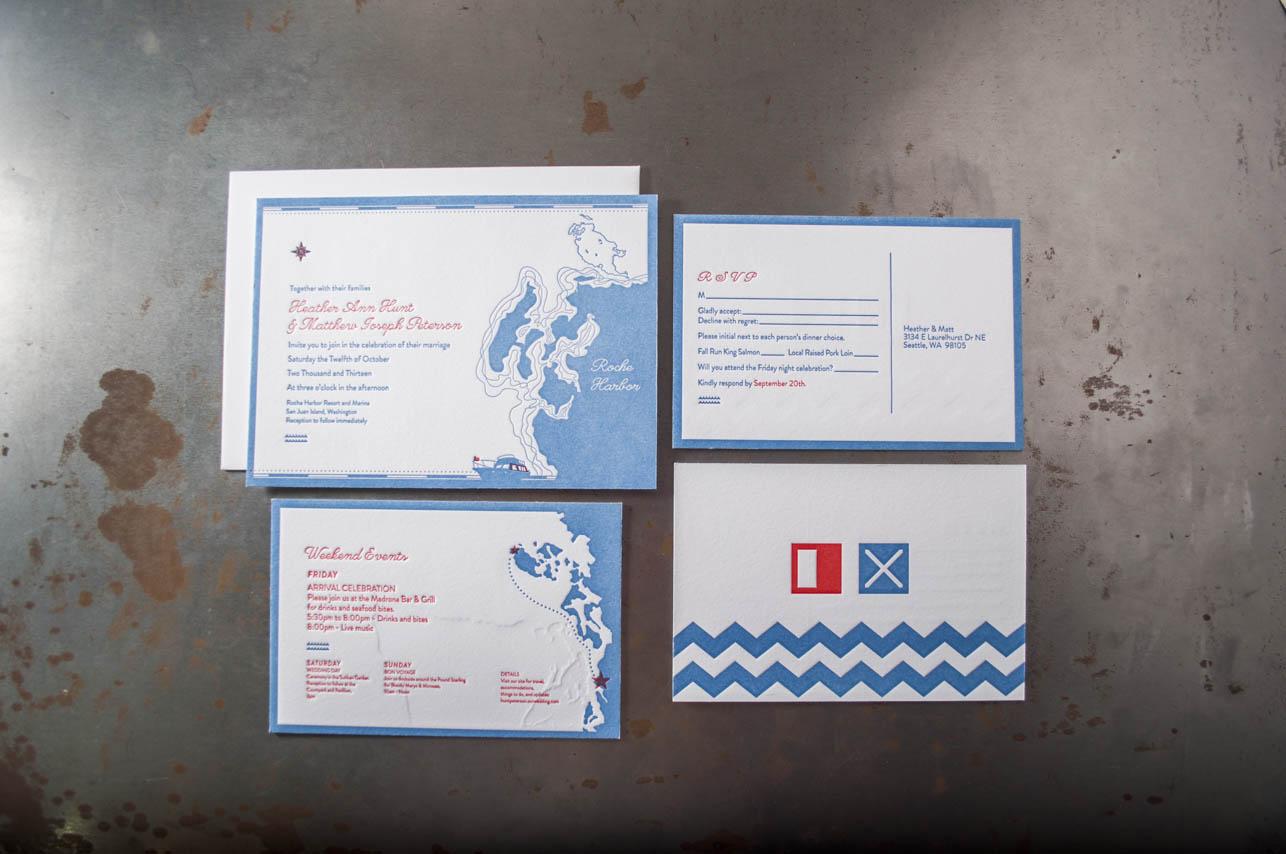 nautical-wedding-suite-letterpress-printing-design roche harbor