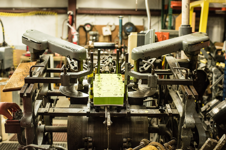 envelope converting machine