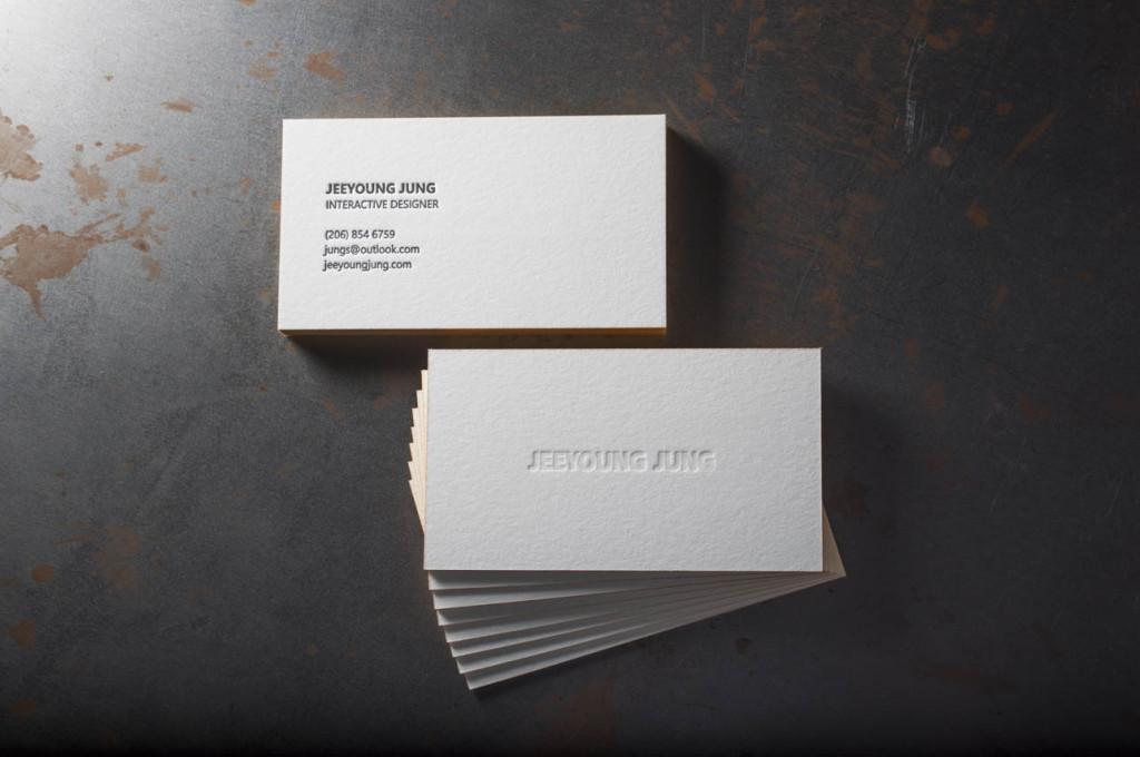 Letterpress business cards seattle