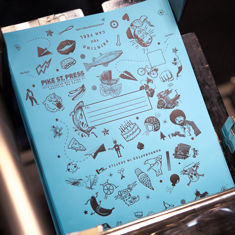 printing envelopes seattle letterpress