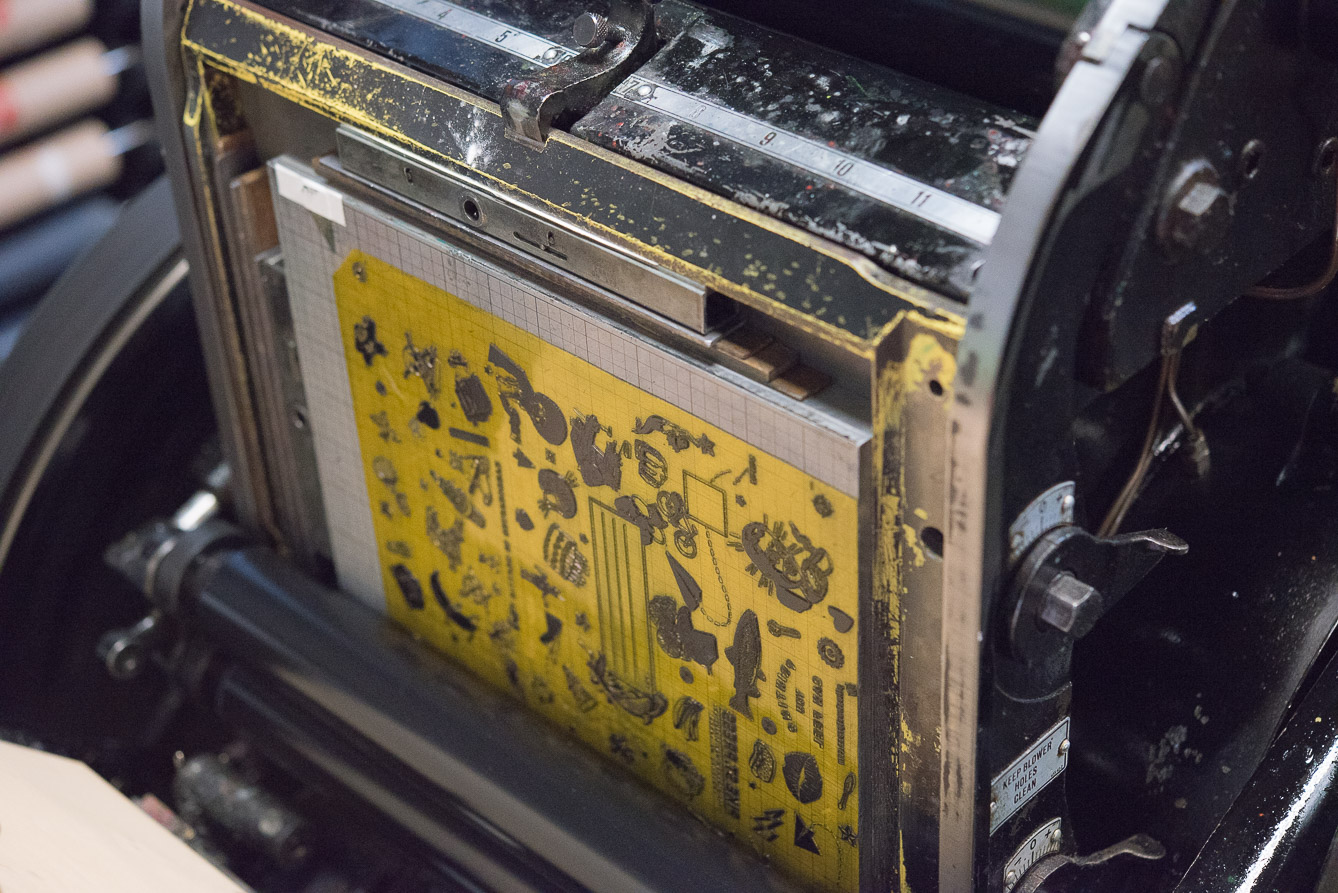 printing plate seattle letterpress