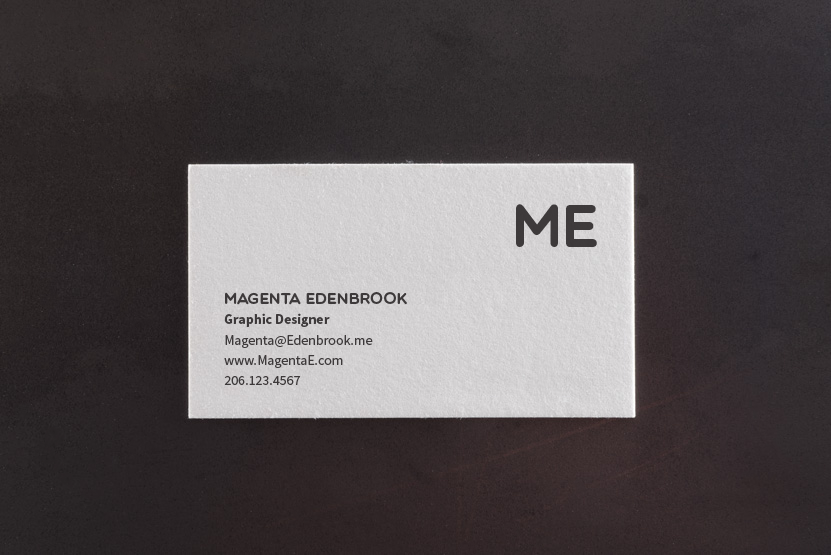Check me out letterpress business card template pike street press check me out letterpress business card template reheart Images