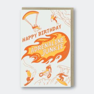 Cheers Eternal Love Letterpress Greeting Card